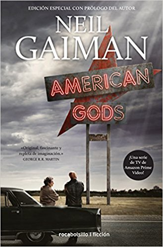 ficcion neil gaiman american gods roca fantasia shadow moon wednesday