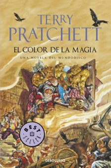 Terry Pratchett - El color de la magia - Debolsillo - Portada