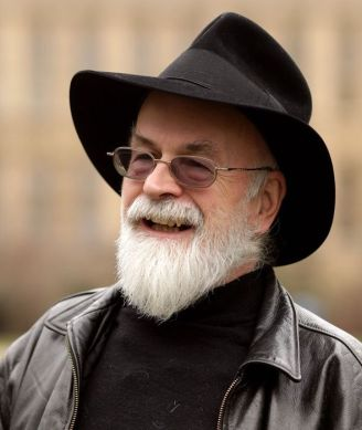 Terry Pratchett - Retrato - Escritor - Fantasía - Mundodisco