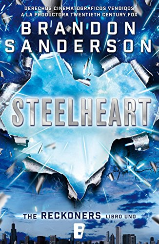 brandon sanderson - portada - reckoners - steelheart - nova