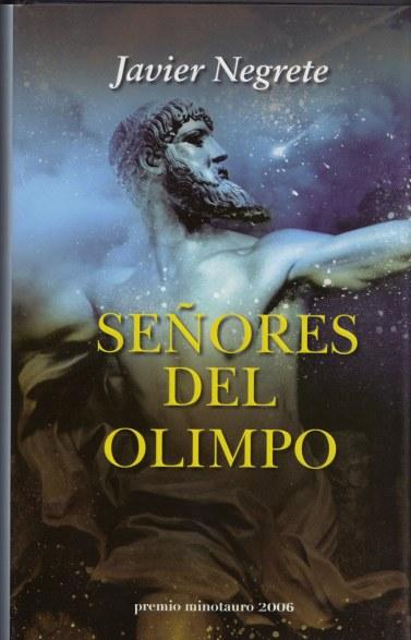 señores del olimpo - fantasia - minotauro - javier negrete